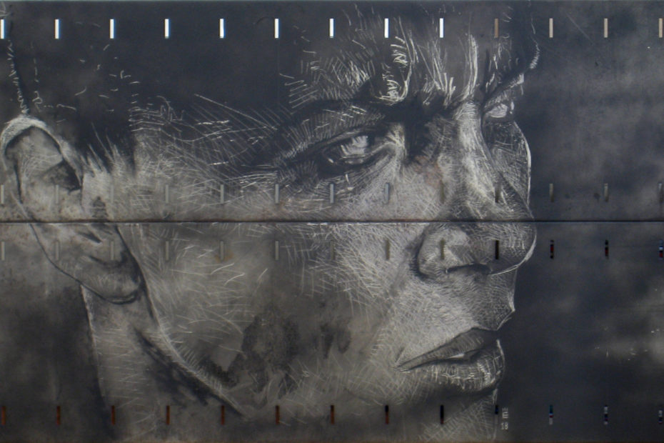 Furiosa - blade on metal plate - Eugene DEBBANE