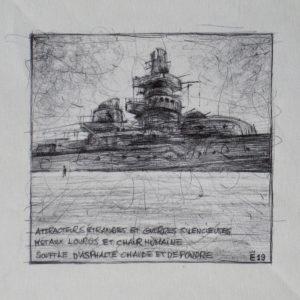 Attracteurs étranges - ink on paper - Eugene DEBBANE